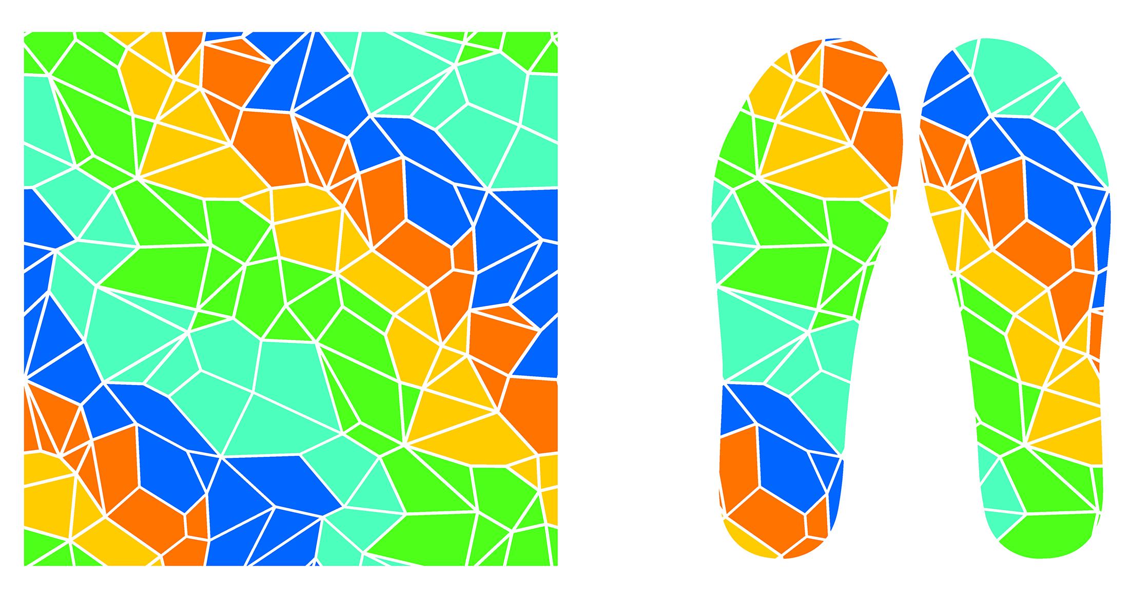 运动的色彩系列鞋垫设计-古田路9号-品牌创意/版权保护平台