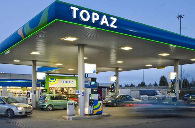 topaz加油站和便利店设计