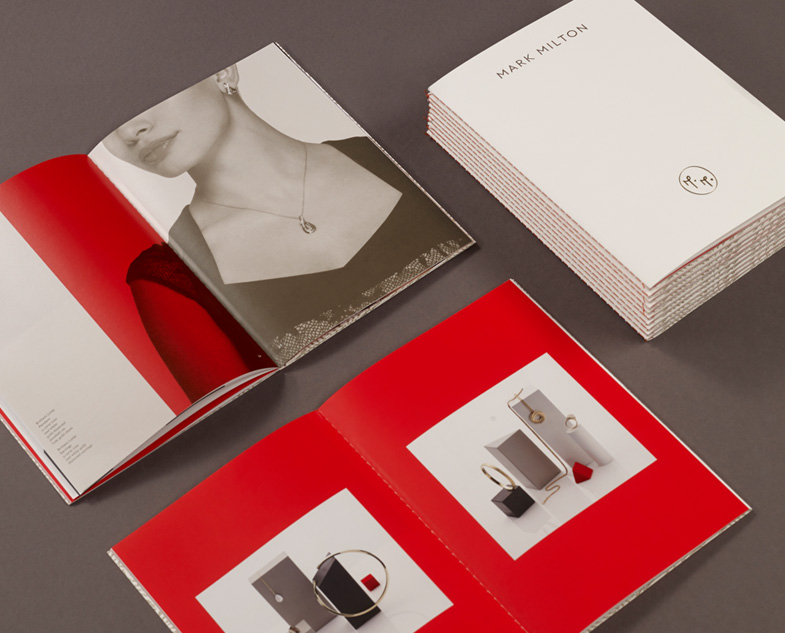 mark milton珠宝品牌形象设计