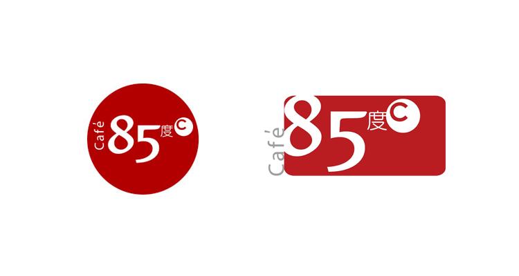 85度c启用全新标识与店面形象设计