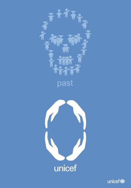 联合国儿童基金会海报展入选作品欣赏——主题:降低儿童死亡率
