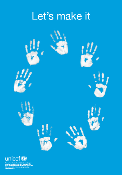 联合国儿童基金会海报展入选作品欣赏——主题:降低