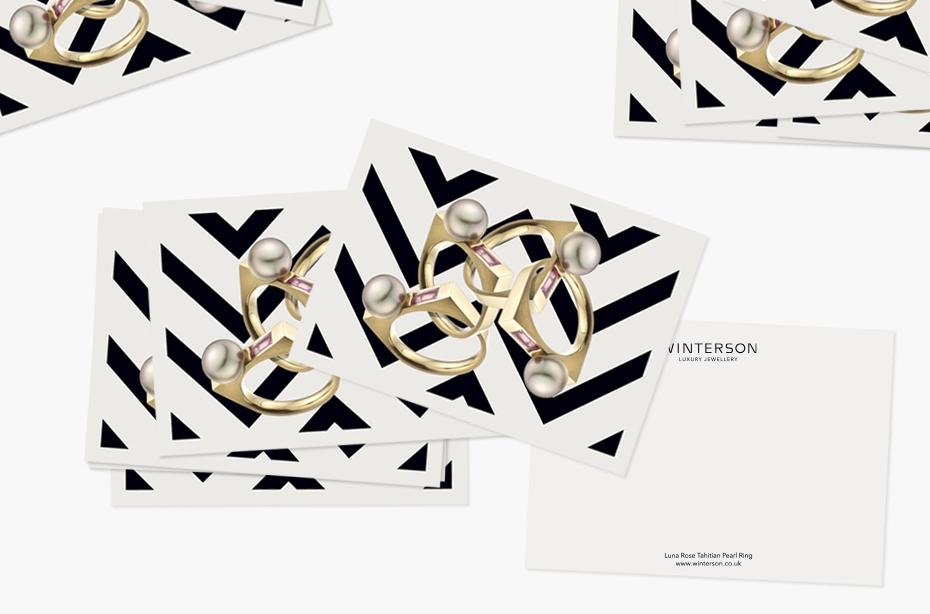 winterson 奢侈品珠宝品牌形象设计
