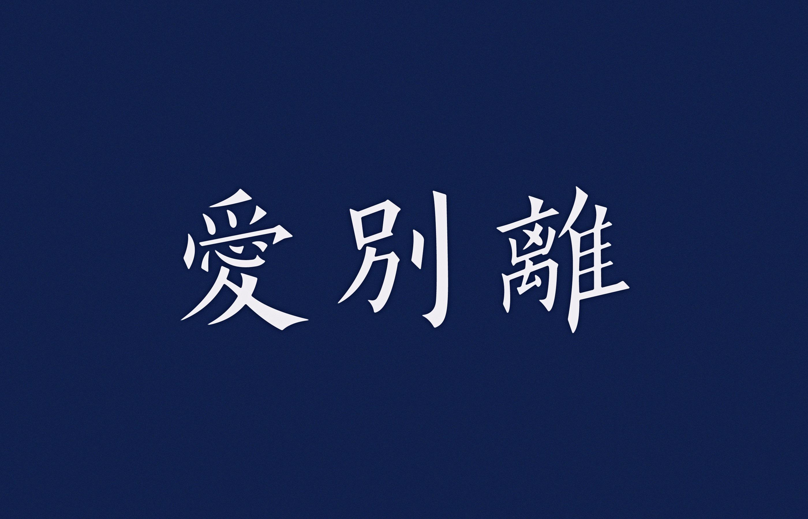 佛教名词字体设计-古田路9号