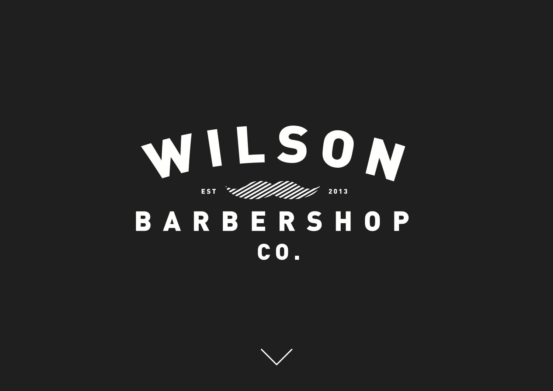 wilson理发品牌形象设计