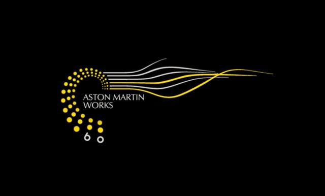 阿斯顿马丁 aston martin 工作室60周年纪念标志设计高清图片