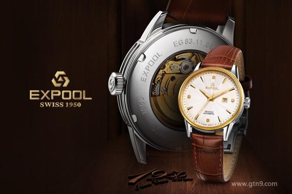依保路手表广告设计