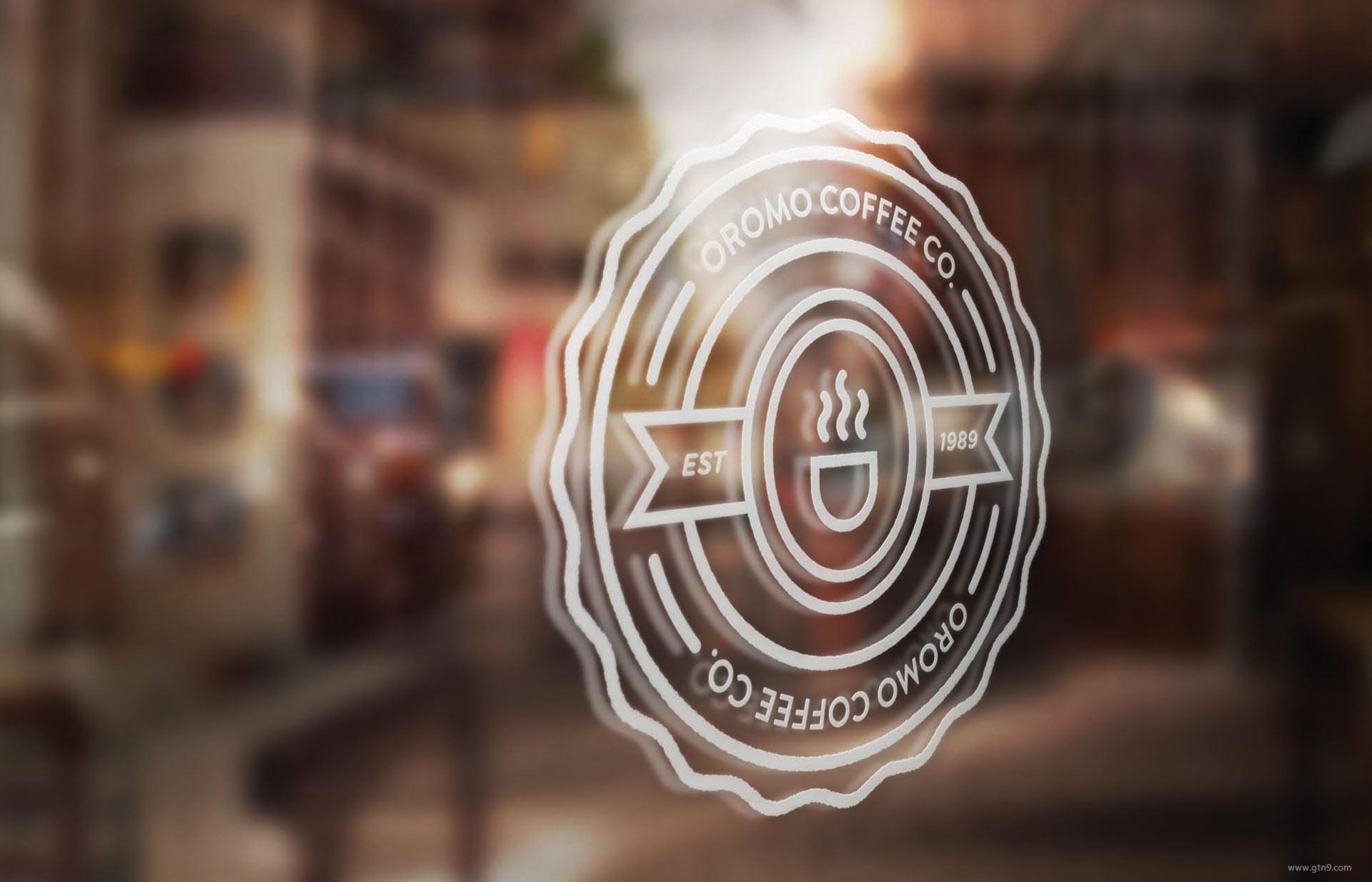 oromo coffee视觉形象设计