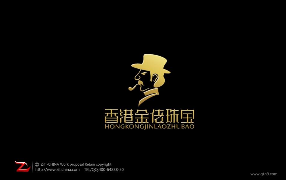 香港金佬珠宝标志设计