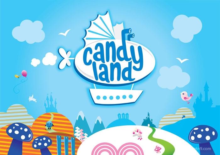 candyland 糖果包装