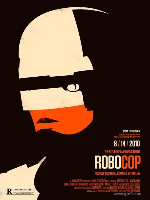 创意的简约电影海报设计