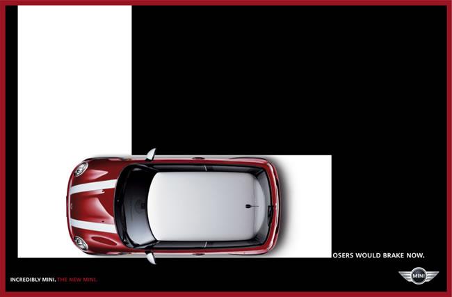 德国mini汽车精彩广告高清图片