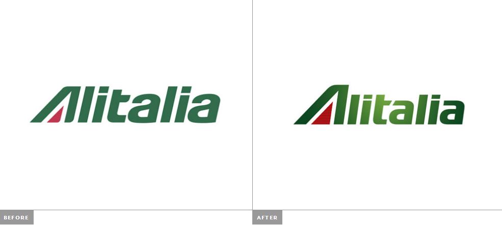 意大利航空新的标志和机身来自朗涛设计