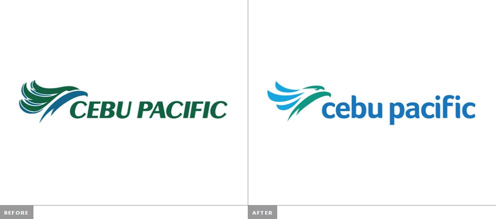 宿务太平洋航空新的logo及识别